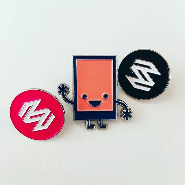 Our new pins have arrived! People are already putting them to good use 📌
