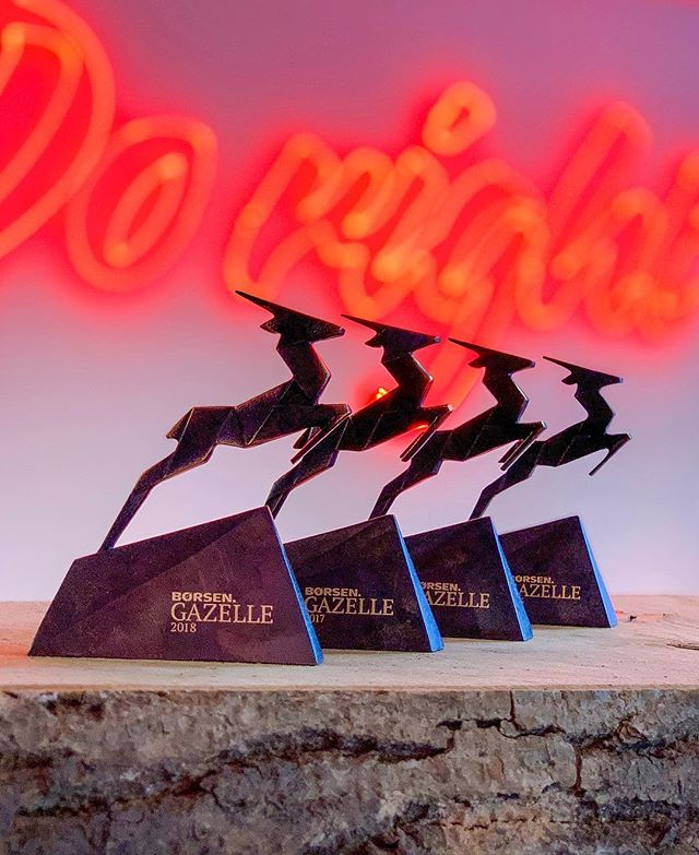 We are very happy and proud to have been awarded our fourth Gazelle statuette in as many years. We owe it all to our wonderful team and courageous clients 🙌🏻
