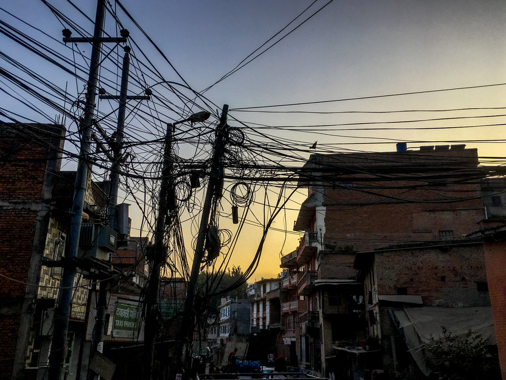 It's no mystery why there are so many power and utility failures in Kathmandu...