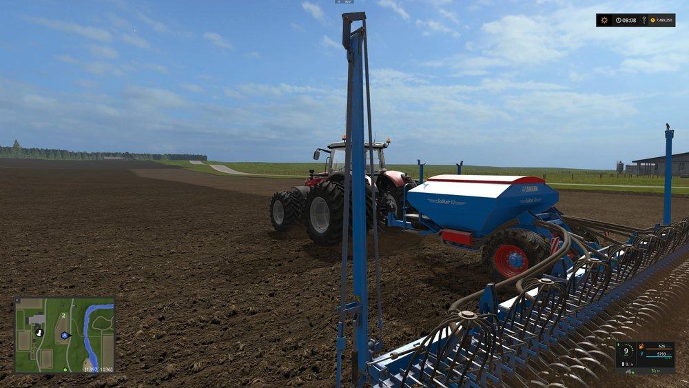Planting oats :)