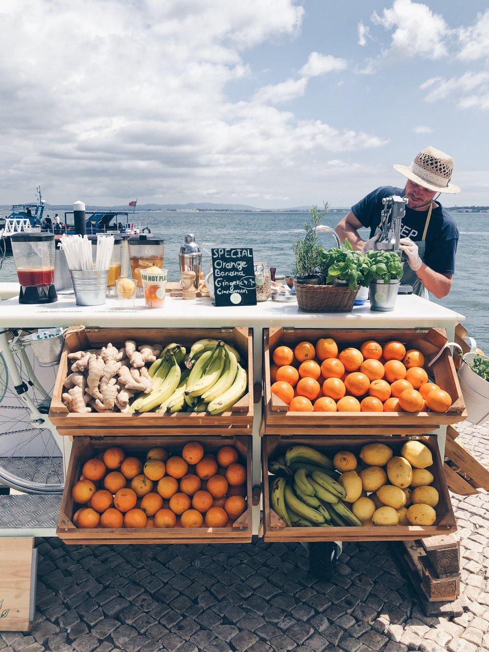 Fruit stand Lisboa