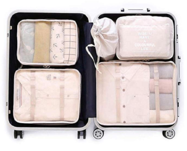 Luggage organizers