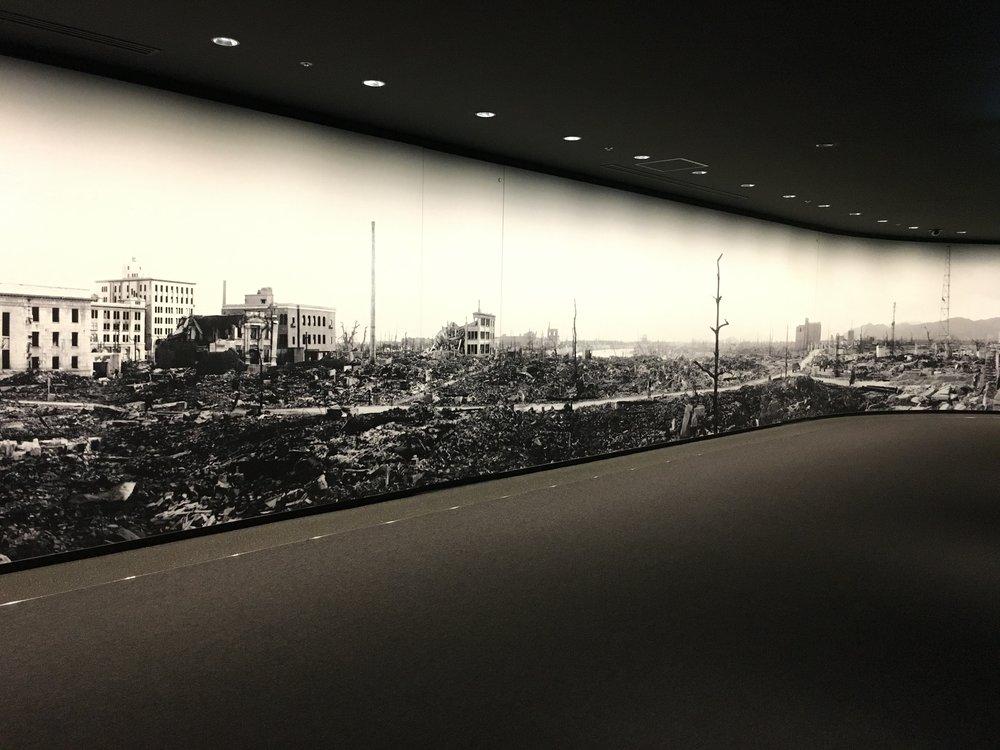 Inside the Memorial Museum.