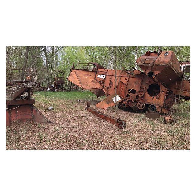 Resting tech #chernobyl #urbex
