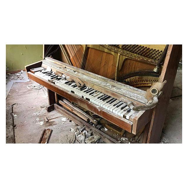 Music education #chernobyl #urbex