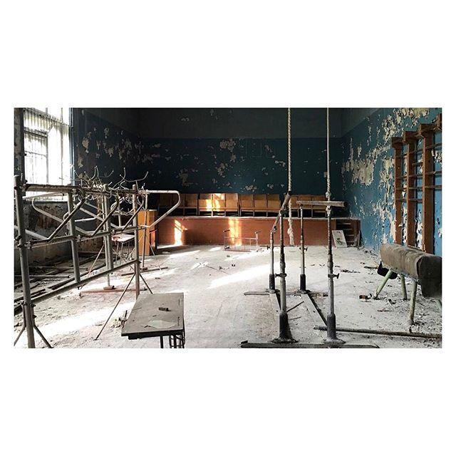 Old gym #chernobyl #urbex