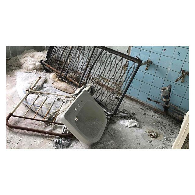 Hospital ward #chernobyl #urbex