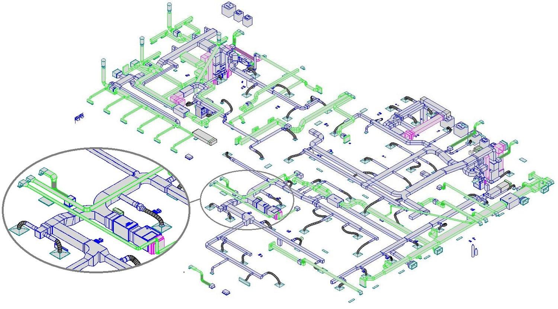 Mechanical Northstar Engineering Technologies Ltd Hvac Drawing 3d Designs