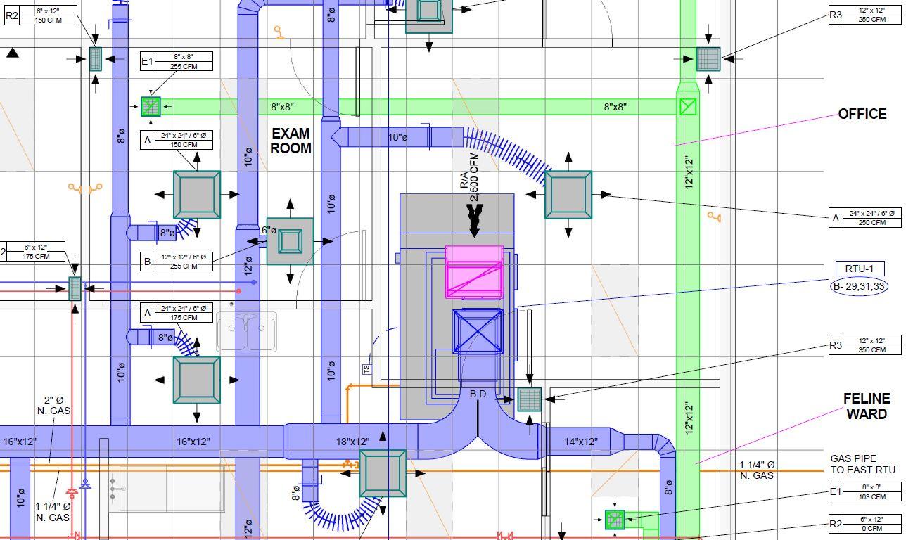 Mechanical Northstar Engineering Technologies Ltd 3d Hvac Drawing Images Plan 4