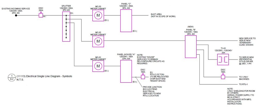 One Line Diagram Electric Meter Wiring Diagram
