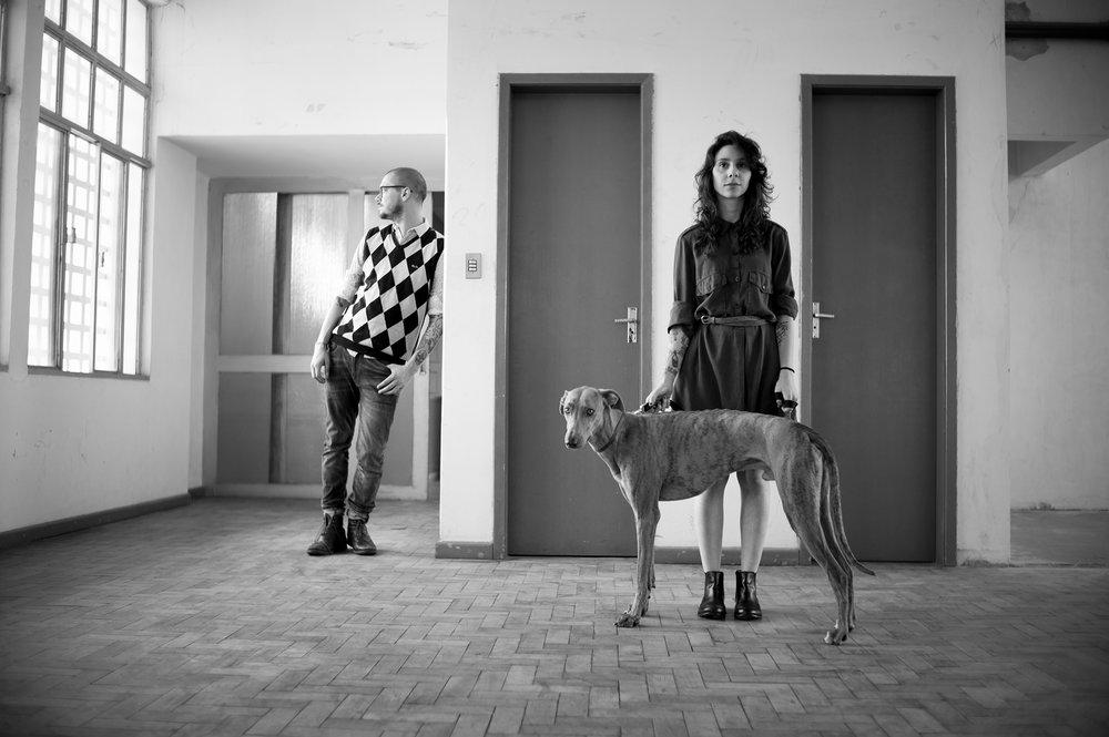 Caro e Will Hound por Paulo Rorschach
