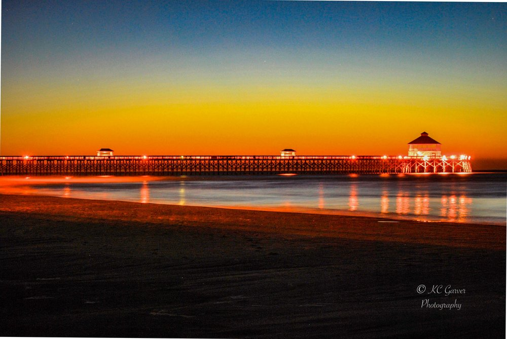Colors at the Folly Beach Pier — KC Garver Photography