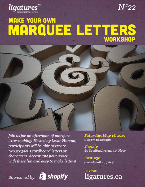 Marquee Workshop - Poster2
