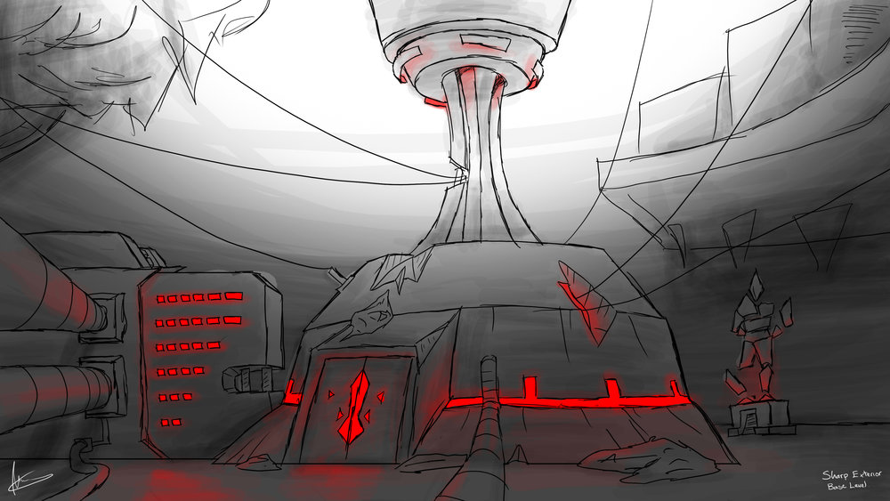 Halen Ballad of the Blade Thief concept art 7