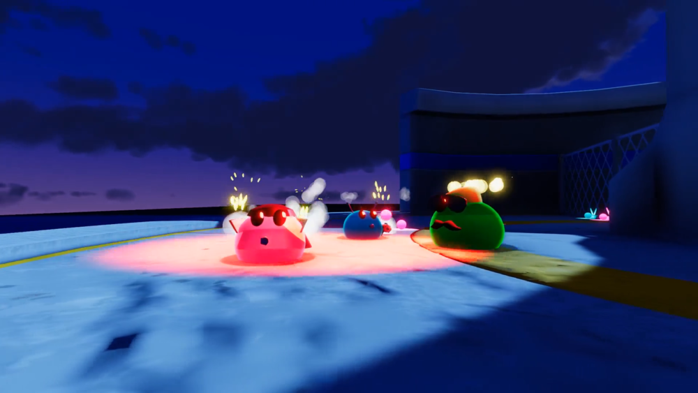 The Blobs Fight gameplay screenshot 1