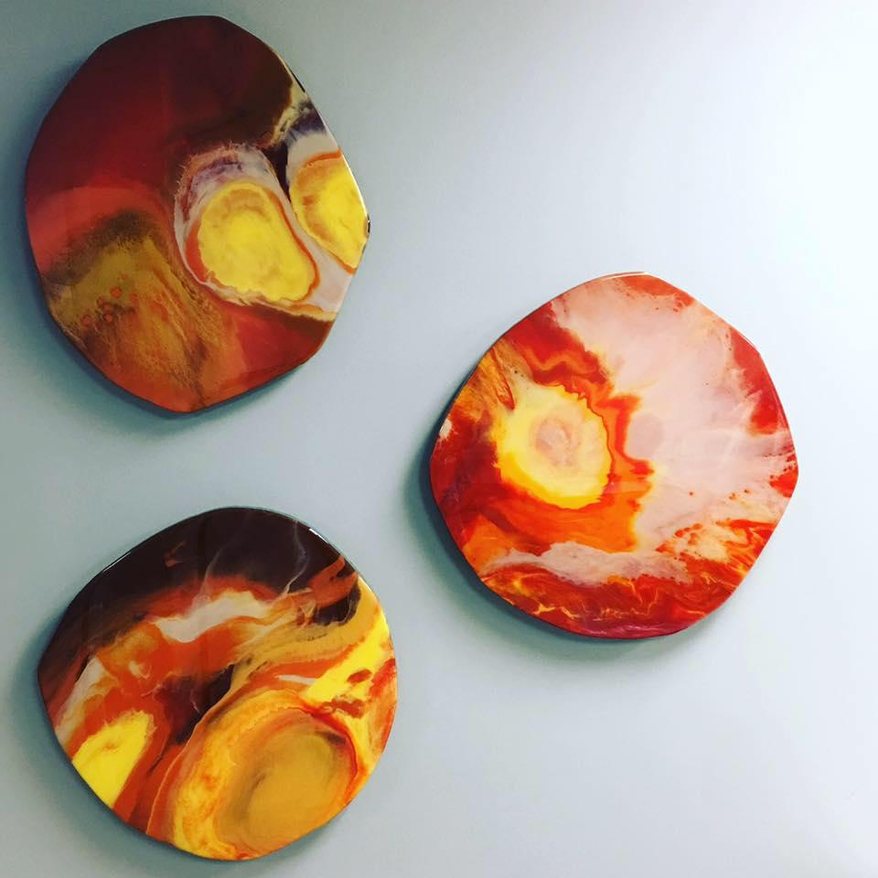 Acrylic & paint