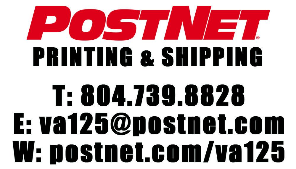 PostNet     Chuck and Crista Cruz    13926 Hull Street Rd  Midlothian, VA 23112    804-739-8828