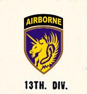 13thAirborne Division