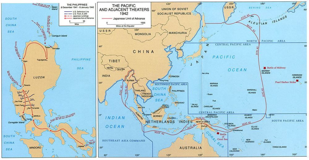 Philippine Islands 7 December 1941   10 May 1942