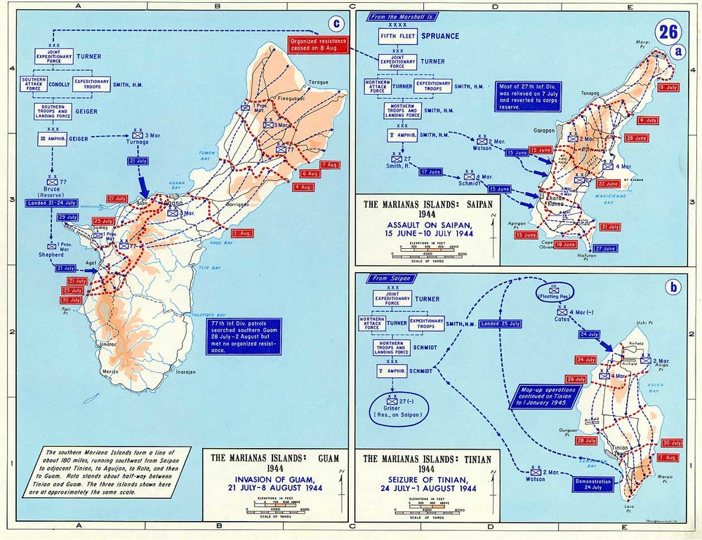 Pacific Theater in World War II  US Army Divisions