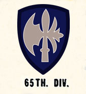 65th Infantry Division US Army Divisions