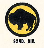 92nd  Infantry Division