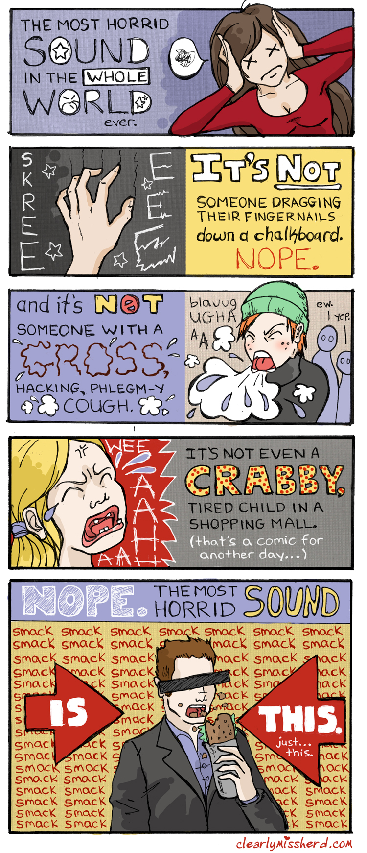 Clearly Miss Herd - 8  Worst Sound — Tabulit Webcomics