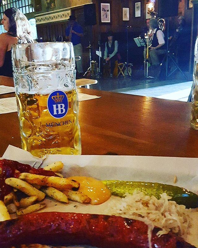 In honor of Oktoberfest! #bier #münchen #pilsner #seattlebars #daydrinking #prost #upperleftusa #barzy #barzyapp
