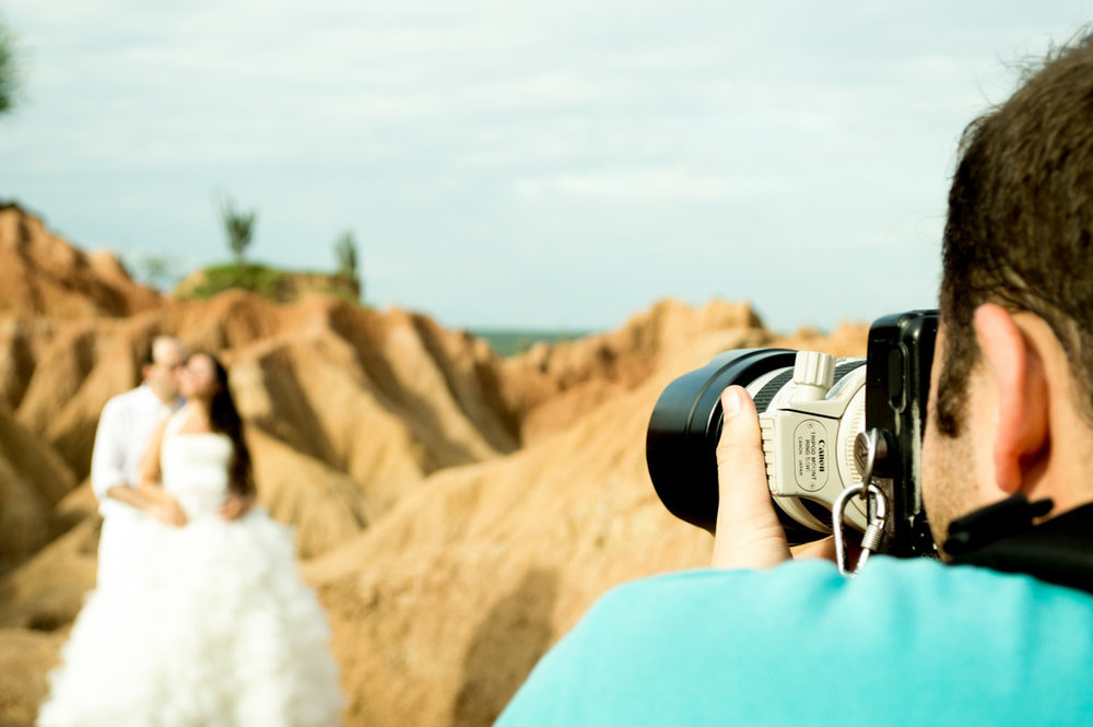 Beautiful beach wedding videography