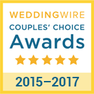 WeddingWire Couple's Choice Award 2015-2017 | Best Cape Cod & The Islands Wedding Cinematographer