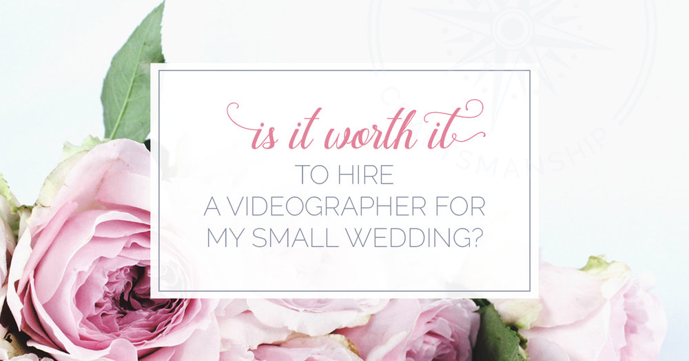 weird hiring videographer small wedding | Boston Wedding Video