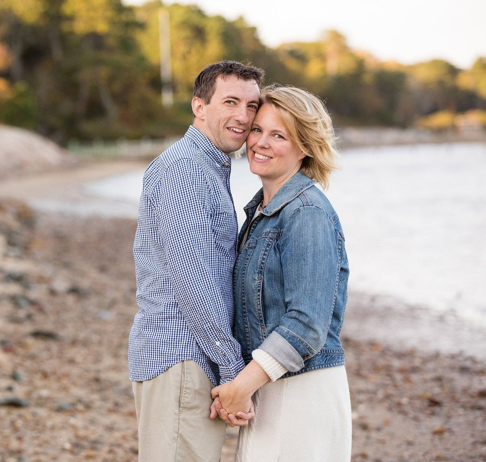 Owners of Harborview Studio Sean and Cindy Caughey | photo credit:  K  elly Cronin Photography