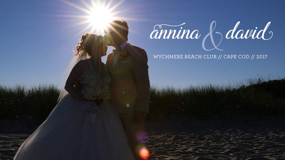 Beach wedding at Wychmere Beach Club // Cape Cod // Cape Cod Wedding Videographer