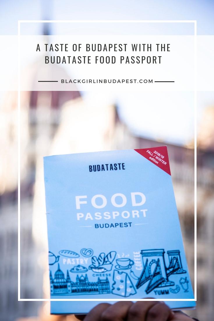 Budataste Food Passport - Black Girl In Budapest - Blog Review