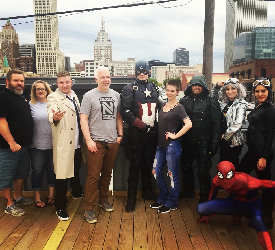 DC/Marvel League helped us celebrate!