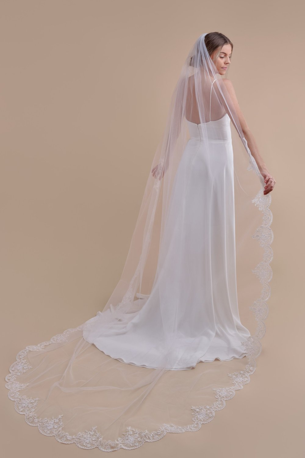 Anomalie, Simply Scalloped Cathedral Length Veil, Affordable Veils.jpg