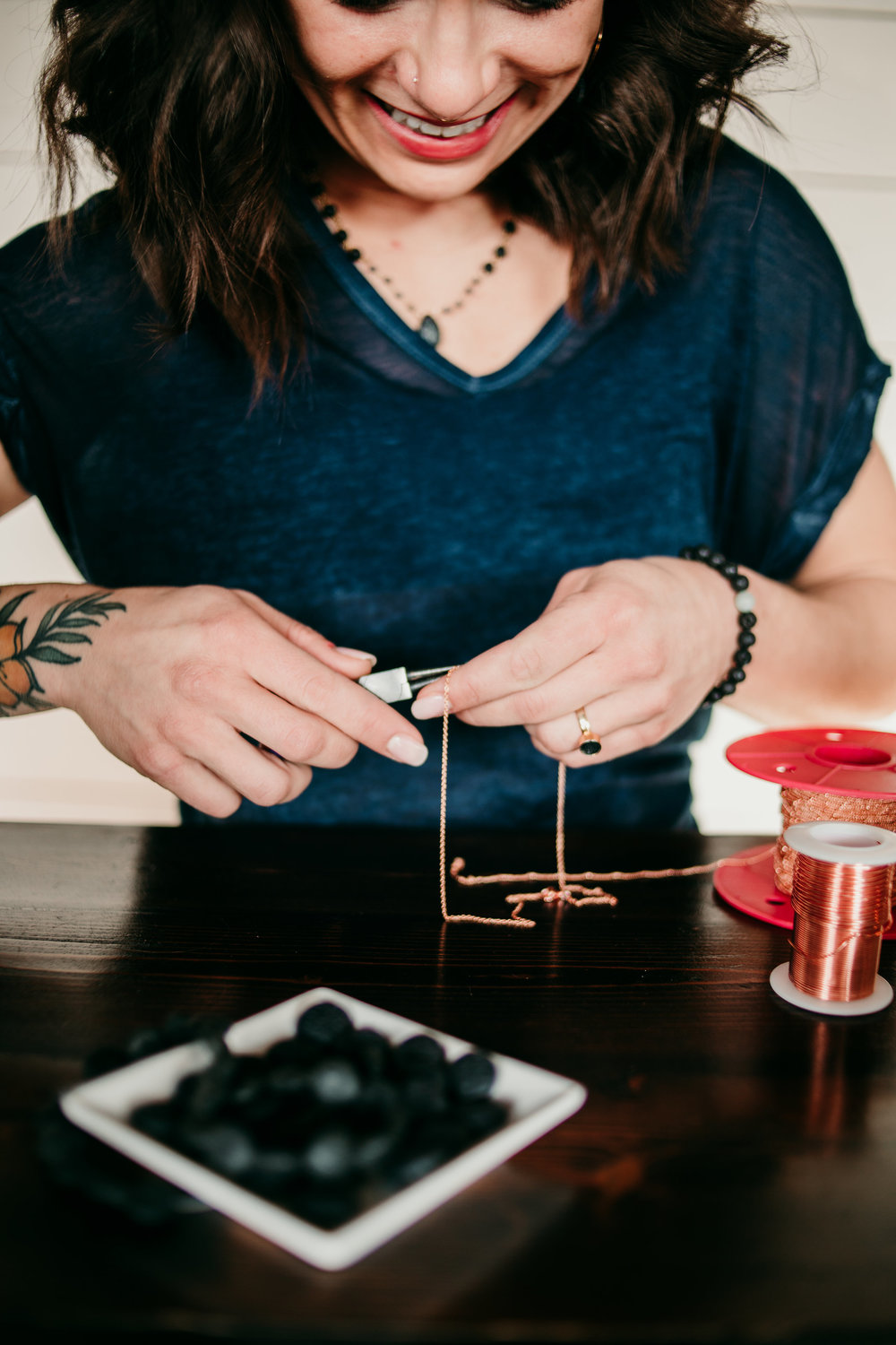 HANDMADE GOODNESS  -  Our diffuser jewelry is unique, fun, and interactive; and all 100% handcrafted in white bear lake, mn. hypoallergenic, and easy-to-wear, they will quickly become your favorite go-to pieces.