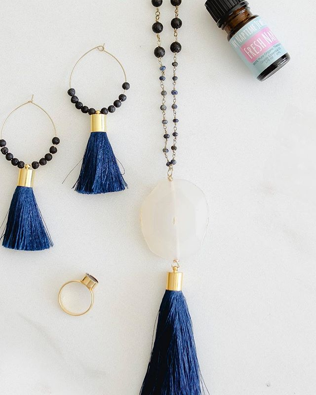 It's not just for wholesale anymore....Our MANTRA collection goes live THIS FRIDAY! Pick up some new diffuser jewelry just in time for spring! ✨🌑💕 • • • #mynaptimejewelry #essentialoils #springfashion #newrelease #comingsoon #doterra #youngliving #minimalism #clean #chic #jewelry #madeinmn #handmade #shoplocal  #womeninbusiness