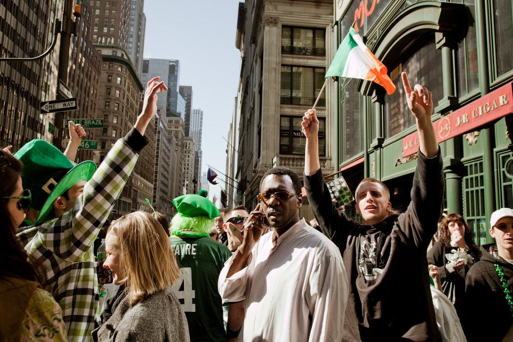 NY · St Patrick's Day · 2009