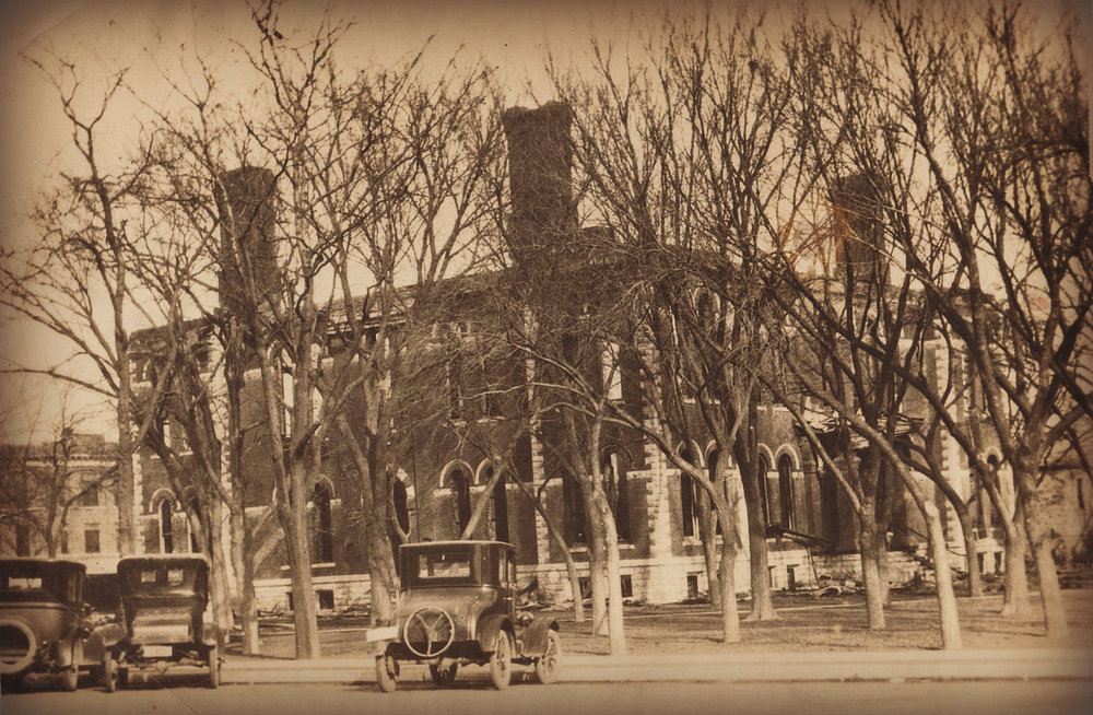 Norton County Courthouse Post Fire December 1926