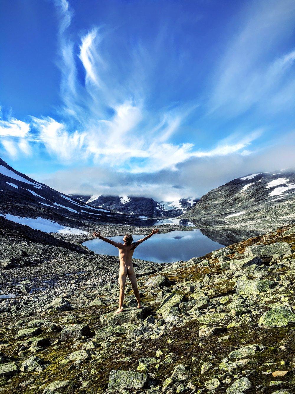 Fjeldet og den bare sandhed!  Foto: Jesper Hovkjær