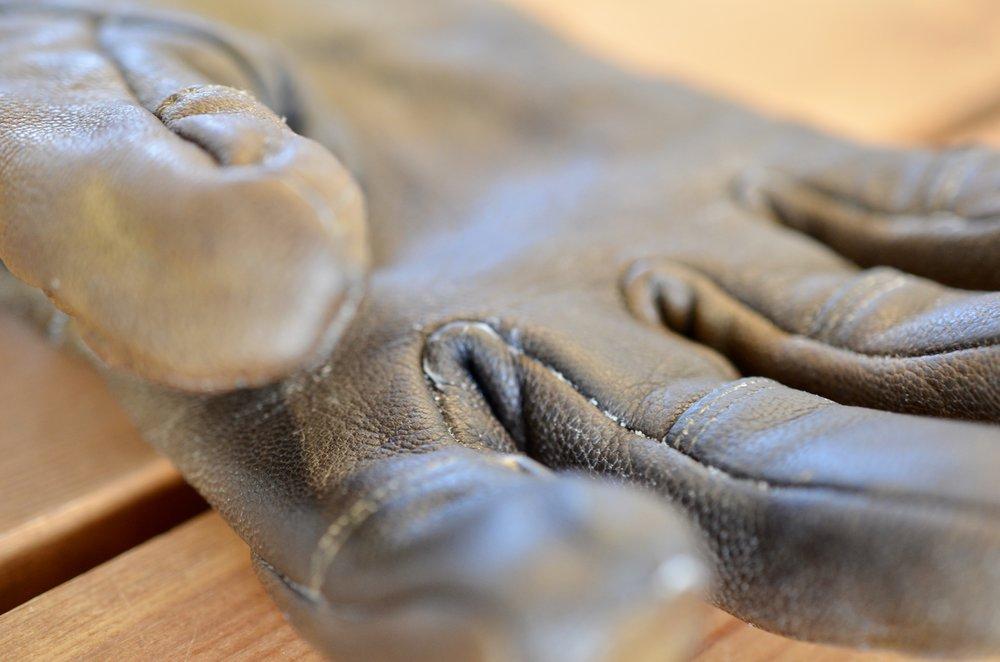 Gedelæder er blvet brugt til disse Arc'teryx Tactical gloves