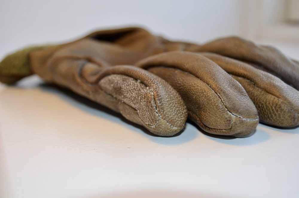 Størknet læderfedt