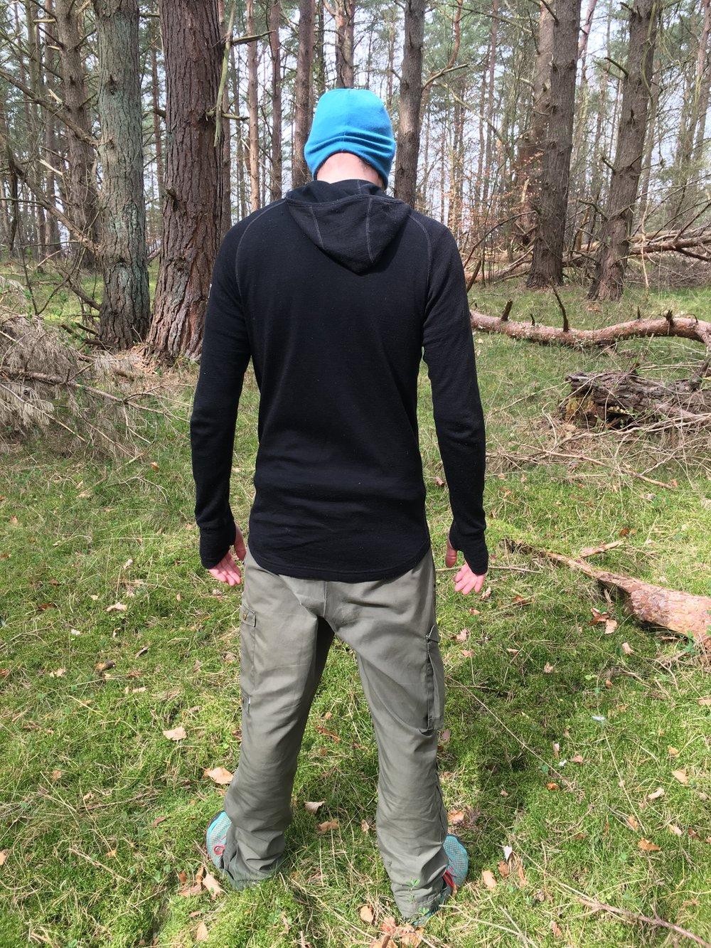 Læg mærke til hvor langt trøjen går ned - så kryber den ikke op når man bukker sig ned. Foto: Johanne Rose Conrad
