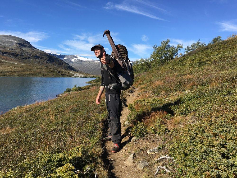 Thumbs up til favorittrøjen!  Foto: Jesper Hovkjær