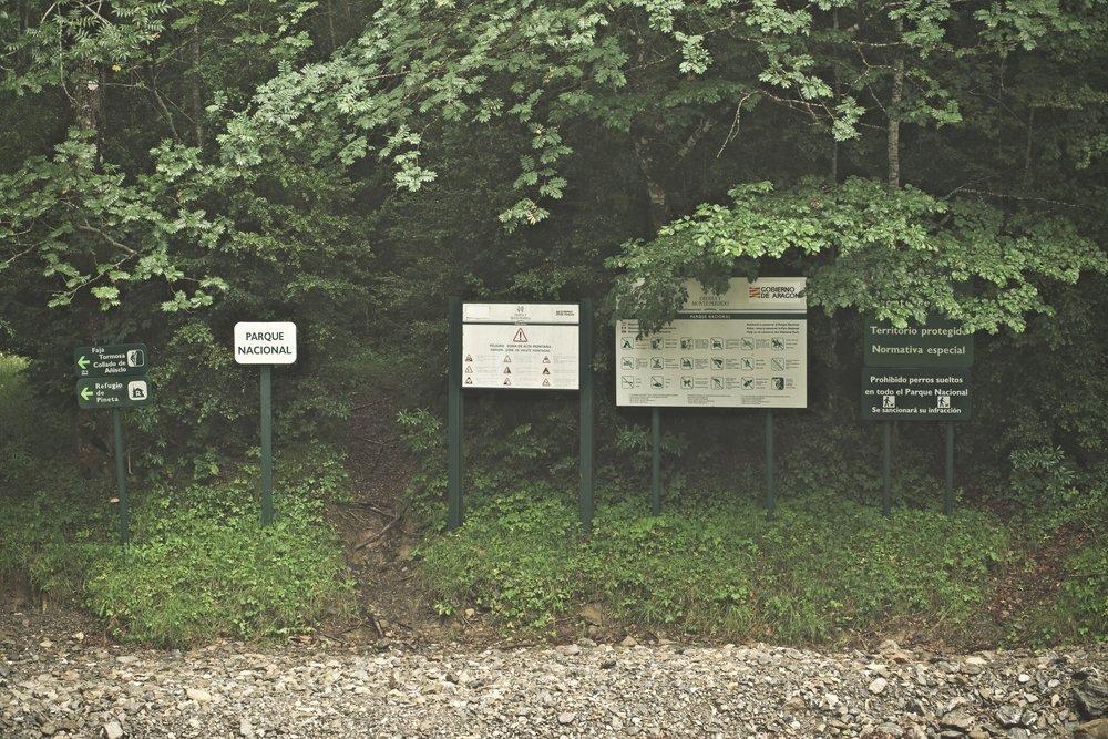 man er ikke i tvivl om at der er mange regler når man vader ind i nationalparken