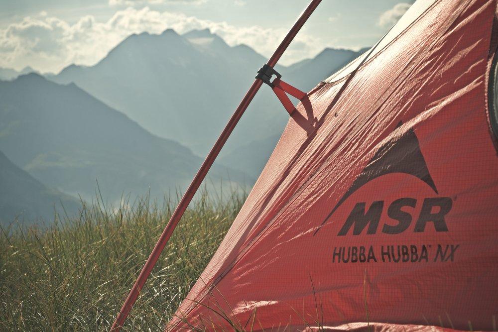 Mit nye telt gør det godt i solen