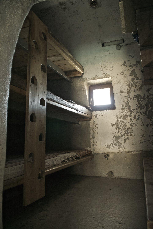 Det bagerste rum med sovepladser til 15 personer