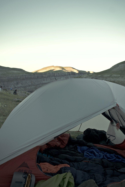 Morgenstund ved  refugie de Goriz