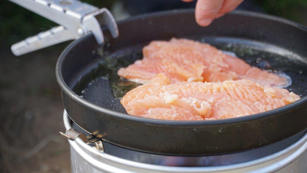 Frisk fisk til aftensmad